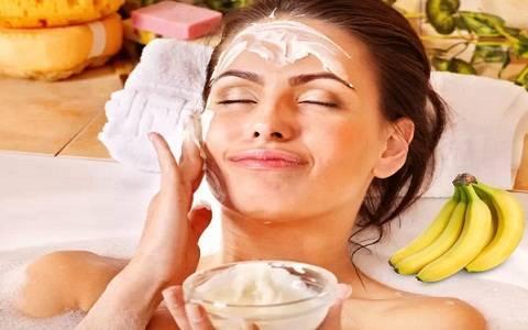 Banana Dry Skin Mask
