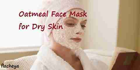 oatmeal face mask for dry skin